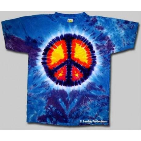 T-Shirt Peace - Ado - Large