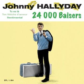 Johnny Hallyday - 45 Tours - Nous Les Gars, Nous Les Filles (Vinyle Vert)