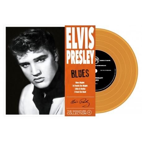 Elvis Presley - 45 Tours - The Signature Collection N°06 - Blues (Vinyle Orange)