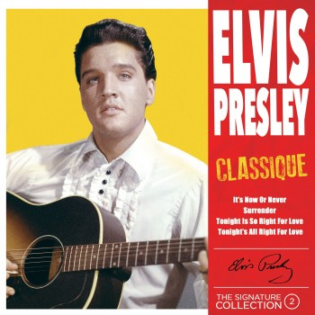 Elvis Presley - 45 Tours - The Signature Collection N°02 - Classique (Vinyle Jaune)